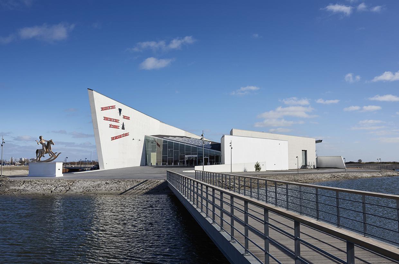 New entrance. Photo: Henrik Jauert