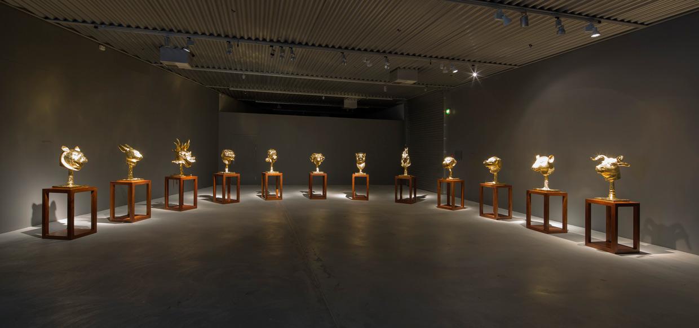 Ai Weiwei, Circle of Animals/Zodiac Heads, 2010. Photo: Anders Sune Berg