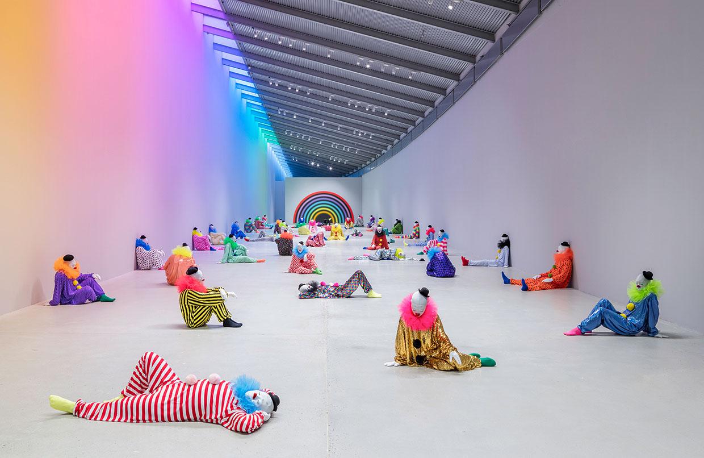 Ugo Rondinone - vocabulary of solitude, ARKEN Museum of Modern Art. Photo: Anders Sune Berg