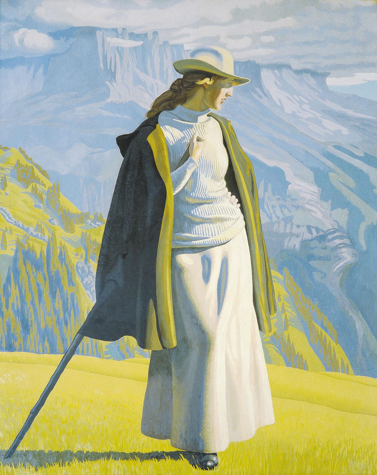 J.F. Willumsen, A Mountain Climber, 1904. G. A. Hagemanns Kollegium. Photo: Anders Sune Berg