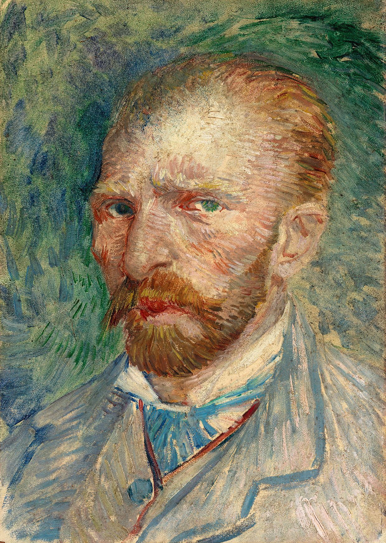 Vincent van Gogh, Self-portrait, 1887. Coll. Kröller-Müller Museum, Otterlo