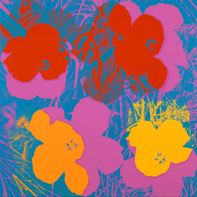 Andy Warhol, Flowers, 1970. Louisiana Museum of Modern Art, Humlebæk. Photo: Poul Buchard / Brøndum & Co.